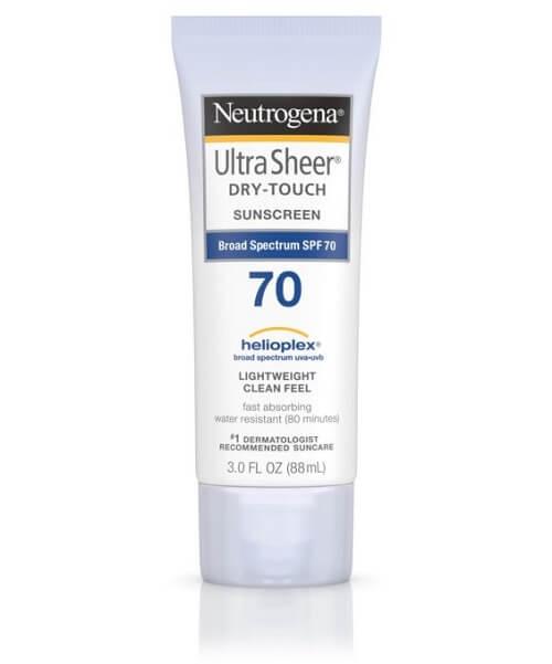 Thương hiệu kem chống nắng tốt nhất thế giới - Neutrogena