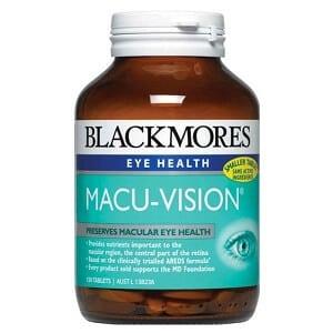 Thuốc bổ mắt Blackmores Macu Vision của Úc
