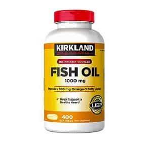 Thuốc bổ mắt Kirkland Signature Fish Oil Omega 3