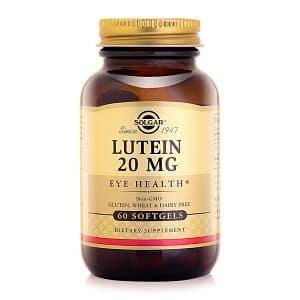 Thuốc bổ mắt Solgar Lutein của Mỹ