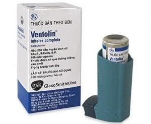 Thuốc cắt cơn hen Ventolin Inhaler