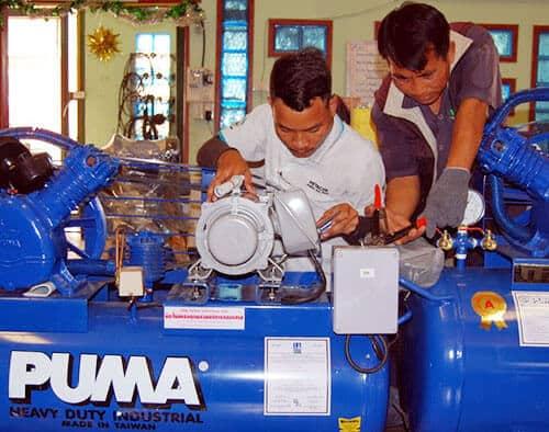 Các lỗi thường gặp khi sử dụng máy nén khí và cách khắc phục