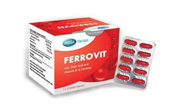 Ferrovit - Thuốc sắt chất lượng