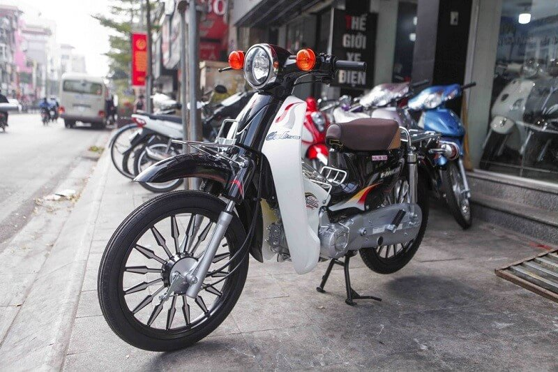 3 mẫu xe máy số 50cc Cub, Wave, Sirius của hãng Halim dành cho học sinh