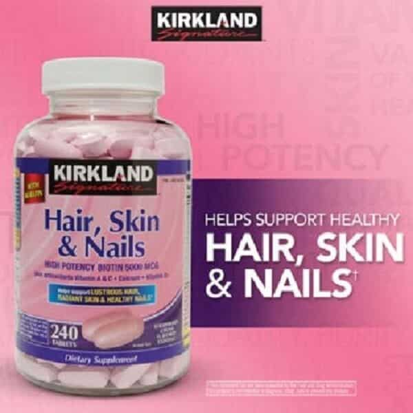 Kirkland-Signature-Hair-Skin -Nails-thuc-pham-chuc-nang-tot-cho-toc